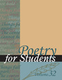 Poetry for Students, Vol. 32 cover