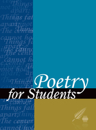Poetry for Students, Vol. 1 cover