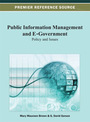 Public Information Management and E-Government: Policy and Issues cover
