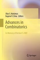 Advances in Combinatorics: Waterloo Workshop in Computer Algebra, W80, May 26-29, 2011
