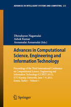Advances in Computational Science, Engineering and Information Technology: Proceedings of the Third International Conference on Computational Science, Engineering and Information Technology (CCSEIT-2013), KTO Karatay University, June 7-9, 2013, Konya, Turkey ? Volume 1