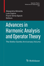Advances in Harmonic Analysis and Operator Theory: The Stefan Samko Anniversary Volume