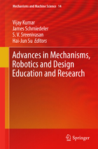 Advances in Mechanisms, Robotics and Design Education and Research