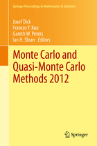 Monte Carlo and Quasi-Monte Carlo Methods 2012