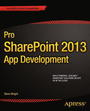 Pro SharePoint 2013 App Development cover