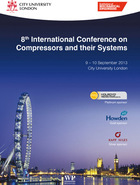 8th International Conference on Compressors and their Systems: 9?10 September 2013, City University London, UK