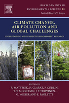 Climate Change, Air Pollution and Global Challenges: Understanding and Perspectives from Forest Research