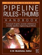 Pipeline Rules of Thumb Handbook, ed. 8: A Manual of Quick, Accurate Solutions to Everyday Pipeline Engineering Problems