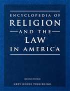 Encyclopedia of Religion and the Law in America, ed. 2
