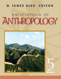 Encyclopedia of Anthropology cover