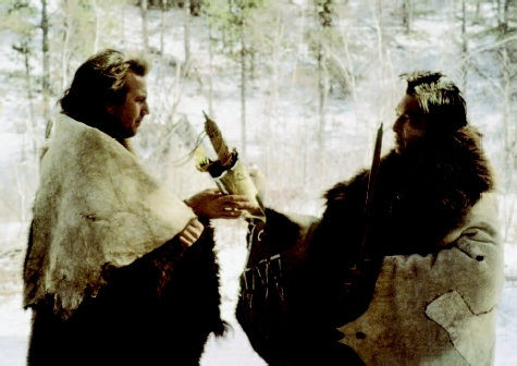 Kevin Costner and Graham Greene in Costners Dances with Wolves (1990), which seemed a step forward in its depiction of Native Americans.  ORION PICTURESCOURTESY EVERETT COLLECTION. REPRODUCED BY PERMISSION.