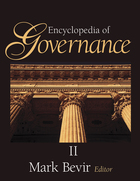 cover of Encyclopedia of Governance