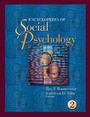 Encyclopedia of Social Psychology cover