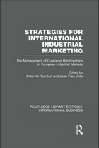 Strategies for International Industrial Marketing: The Management of Customer Relationships in European Industrial Markets