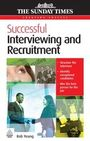 Successful Interviewing and Recruitment cover