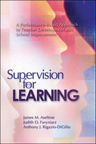 Supervision for Learning: A Performance-Based Approach to Teacher Development and School Improvement image
