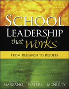 School Leadership that Works: From Research to Results image