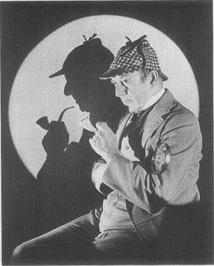 C. Auguste Dupin, the main character in Poes The Purloined Letter, is said to have greatly influenced the creation of Sir Arthur Conan Doyles Sherlock Holmes, shown here