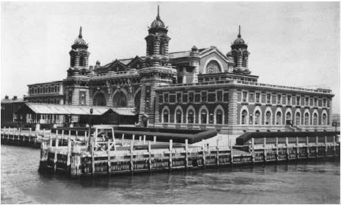 From 1892 to 1954, Ellis Island in New York was the major U.S. point of entry for immigrants coming to America across the Atlantic Ocean.
