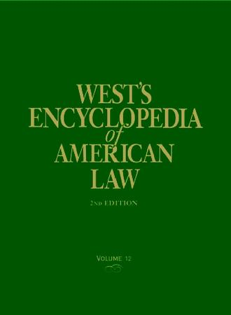 cover of West's Encyclopedia of American Law