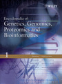 Encyclopedia of Genetics, Genomics, Proteomics and Bioinformatics cover