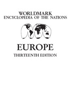 """Picture of the book cover for """"Worldmark Encyclopedia of the Nations: Europe"""""""