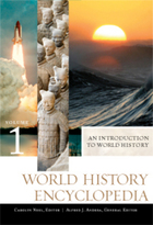 "Picture of book cover for ""World History Encyclopedia"""
