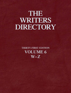 The Writers Directory, ed. 31