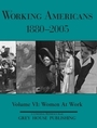 Working Americans, 1880-2005, Vol. 6 cover