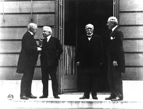 Treaty of Versailles - Magazine cover