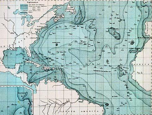 Oceanography Science In Context - Oceanographic map