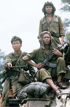 Vietnamese Forces Capture Saigon, Vietnam War