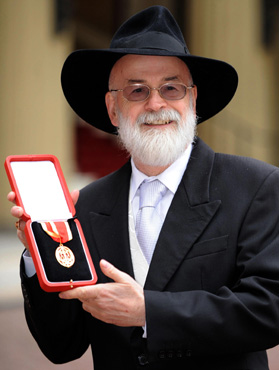 """Terry Pratchett."" Gale Biography in Context, Gale, 2010. Biography in Context, link.galegroup.com/apps/doc/PC4295811600/BIC1?u=cnciss&xid=7e98d226. Accessed 27 Aug. 2017."