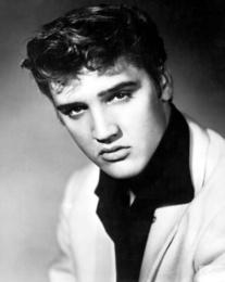 Rock Singer Elvis Presley, 1954