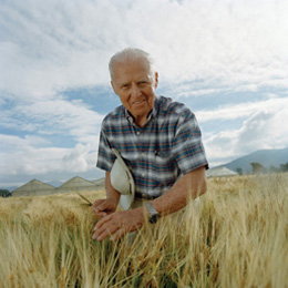 Norman Borlaug, agronomist and 1970 Nobel Peace Prize laureate