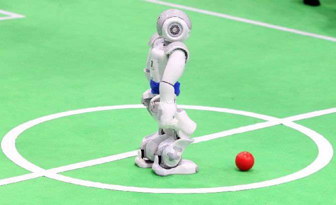 Iran RoboCup Competitions In Tehran, Iran