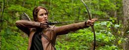 Katniss Hunts a Deer