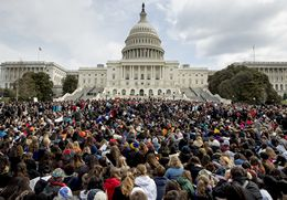 Tens of Thousands of Students Nationwide Participate in Walk-Out to Protest for Safer Schools