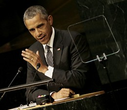 Obama Speaks At UN Sustainable Development Summit 2015
