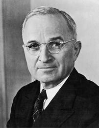 U.S. President Harry S. Truman (1884-1972)
