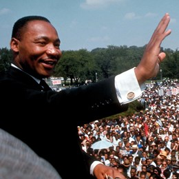 Martin Luther King, Jr. Giving His