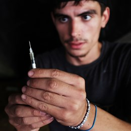Addicted to Heroin