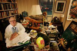 Ray Bradbury at Home