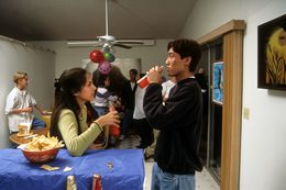 Teens Drinking At A House Party