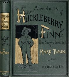 Adventures of Huckleberry Finn cover