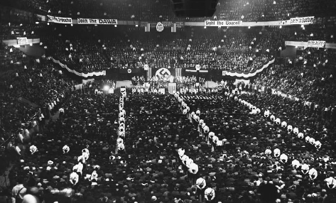 U s history in context document - Madison square garden nazi rally ...