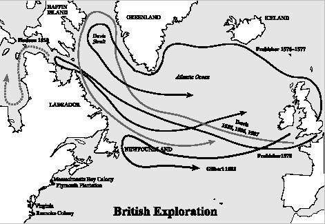 Explorations And Expeditions Student Resources In Context - Map of us explorers coronado la salle