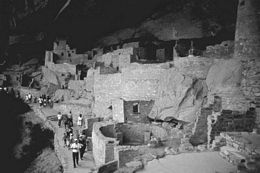 Mesa Verde. These pre-Columbian cliff dwellings are the best preserved and most extensive in the...