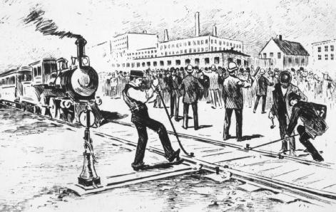 pullman strikes In 1894, a breakthrough in american labor history was made this innovation is commonly known as pullman strike, where an extensive raid was turned down by the.