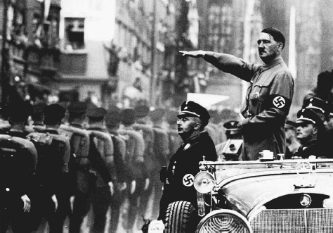 Image result for hitler military parade